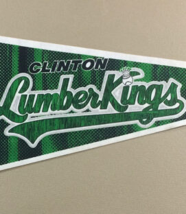 Clinton Lumber Kings Pennant