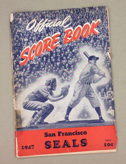 San Francisco Seals 1947 Program