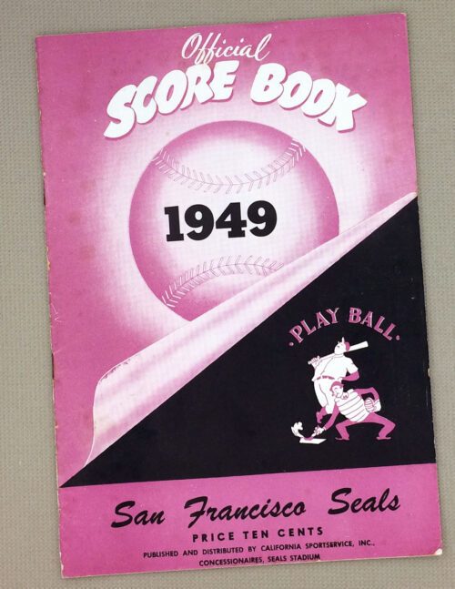 San Francisco Seals 1949 Program