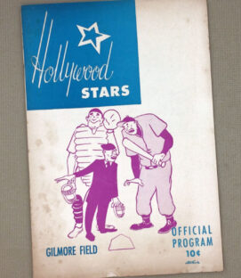 Hollywood Stars 1950 Baseball Program