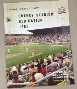 1960 Cheney Stadium Dedication Brochure