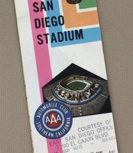 Auto Club 1967 San Diego Stadium Guide