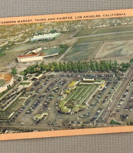 Gilmore Field at Farmers Market Los Angeles