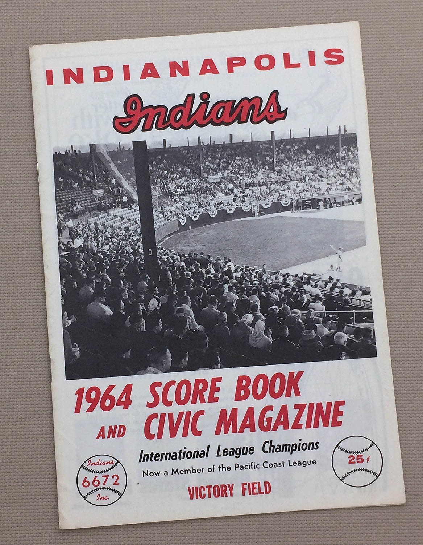 Indianapolis Indians 1964 Program