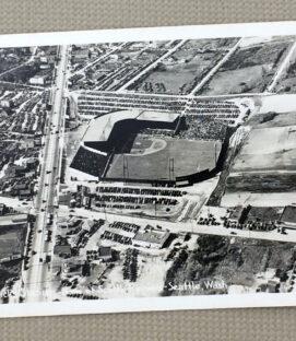Seattle Sicks Stadium 1940 Vintage Postcard