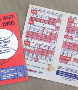 Tacoma Twins 1976 Schedule