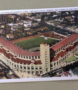 Wrigley Field Los Angeles Replica Postcard