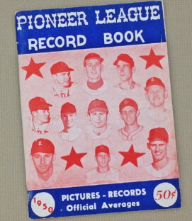 Pioneer League 1950 Record Book