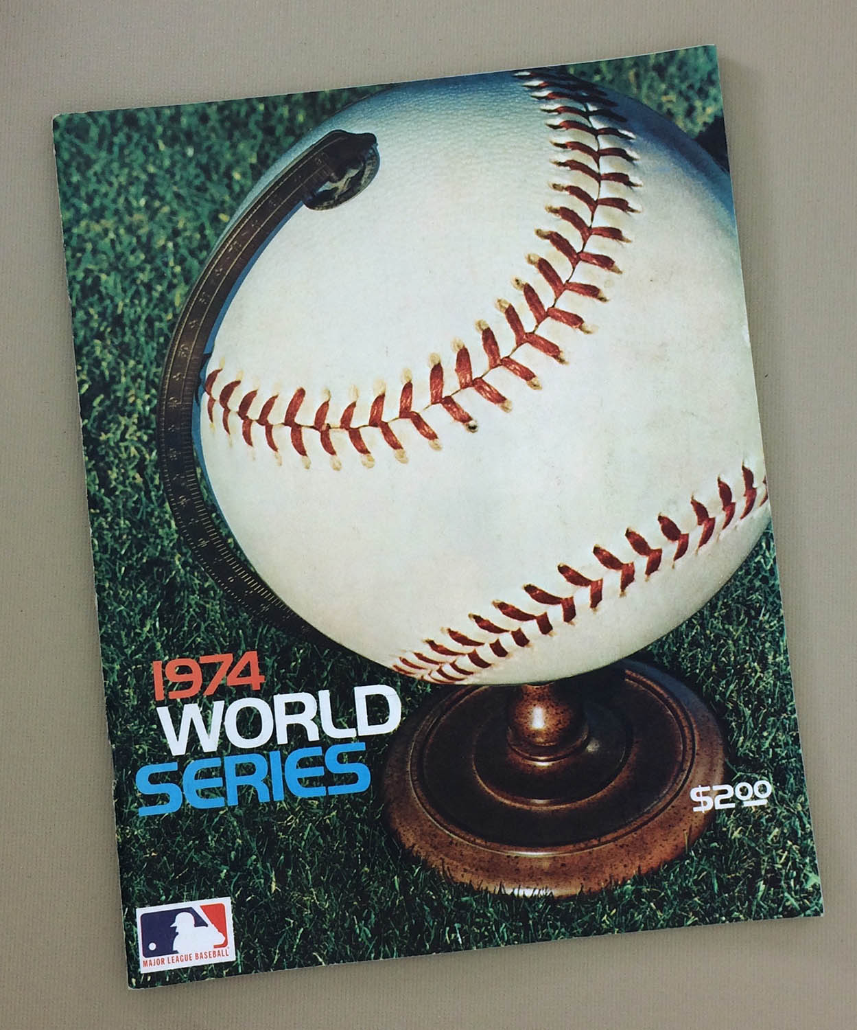 1974 World Series Program