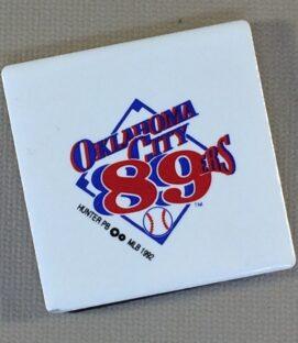 Oklahoma City 89ers Team Magnet