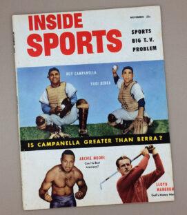 Inside Sports Magazine November 1953