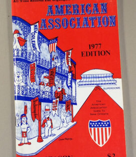American Association 1977 Media Guide