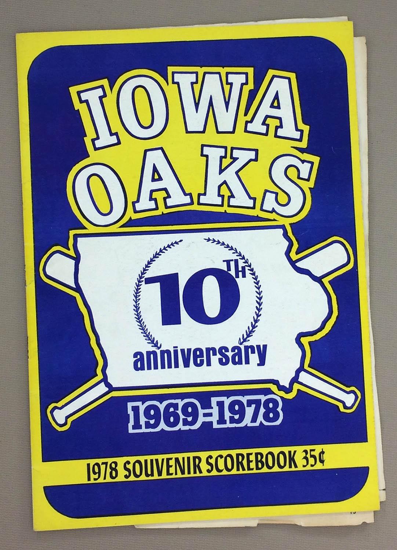 1978 Iowa Oaks Program