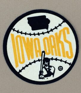 Iowa Oaks Sleeve Iron on Patch