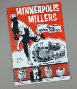 Minneapolis Millers 1956 Game Program