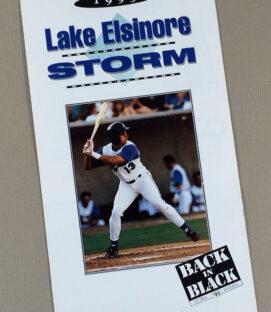 Lake Elsinore Storm 1995 Brochure