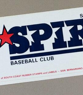 San Bernardino Spirit Bumper Sticker
