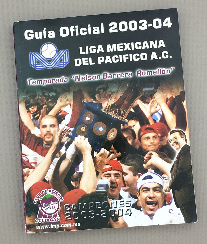 Liga Mexicana Del Pacifico 2003-04 Official Guide
