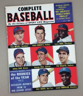FALL 1950 COMPLETE BASEBALL Magazine