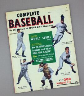 FALL 1951 COMPLETE BASEBALL Magazine