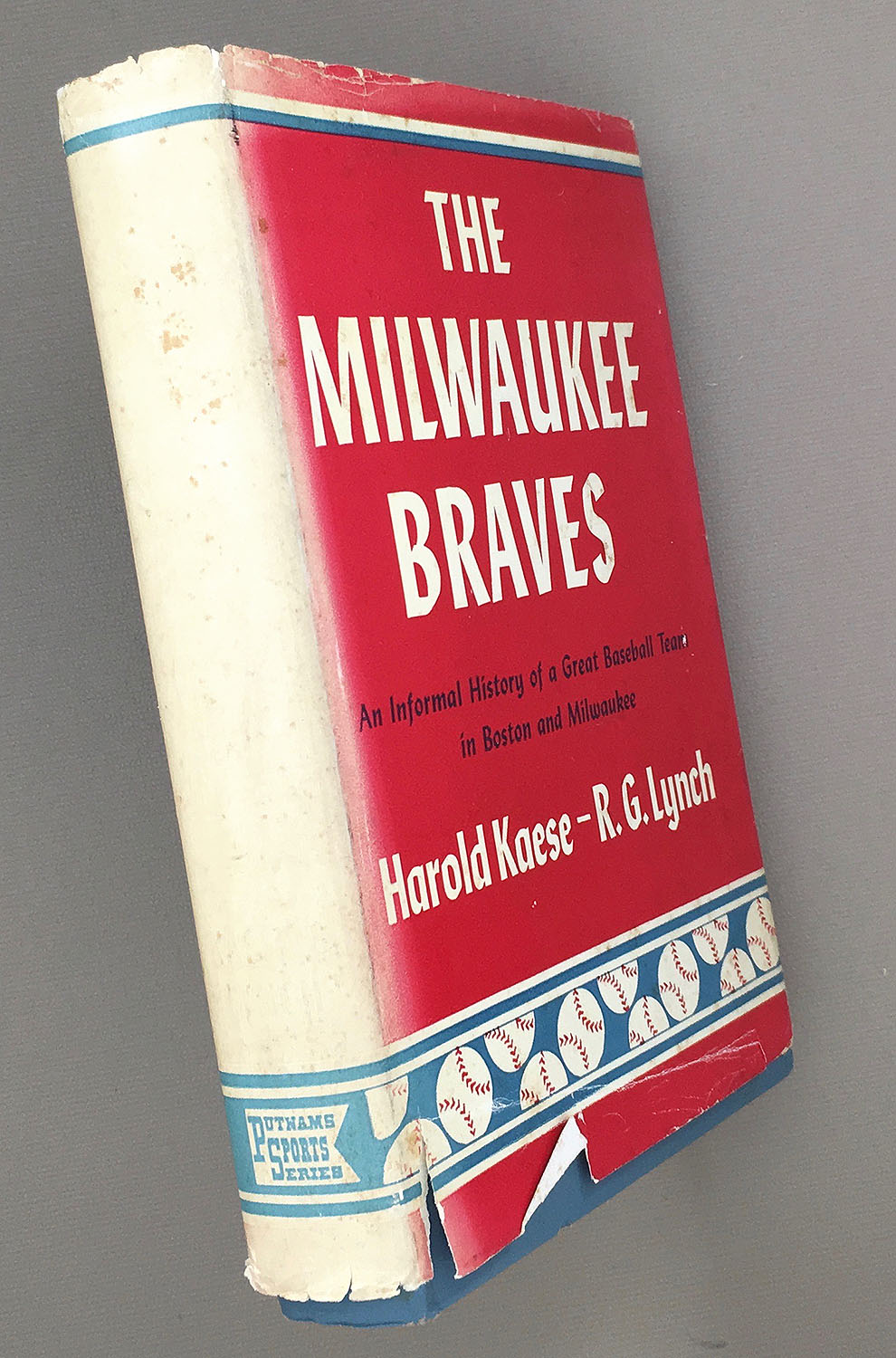 Milwaukee Braves Informal History Harold Kaese