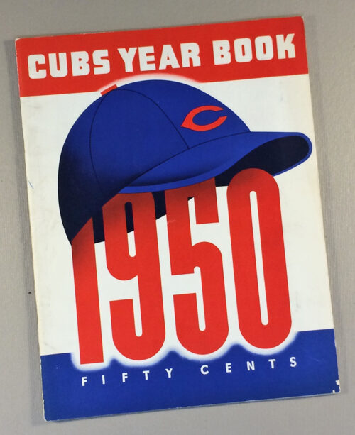 Chicago Cubs 1950 Yearbook