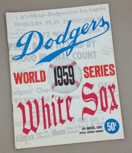 World Series 1959 Game Program