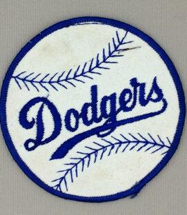 1960s Era Los Angeles Dodgers Patch