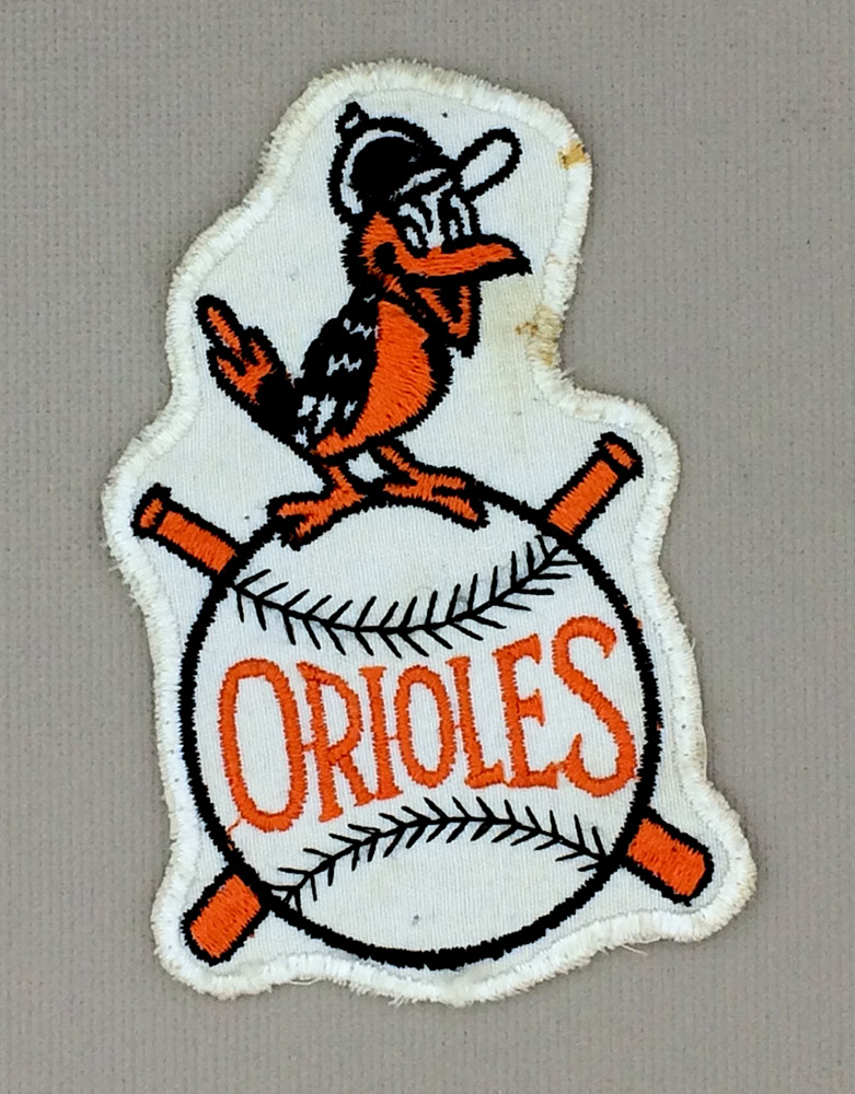 1960s Era Baltimore Orioles Patch