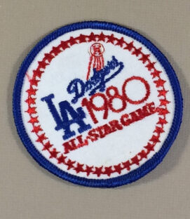 Baseball All-Star Game 1980 patch