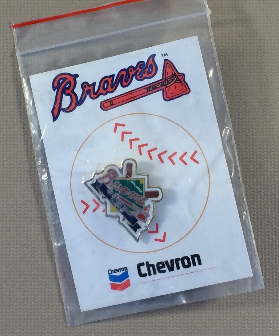 Atlanta Braves 1991 National League Champions Commemorative Pin