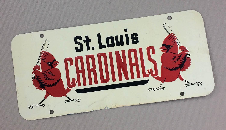 St Louis Cardinals License Plate
