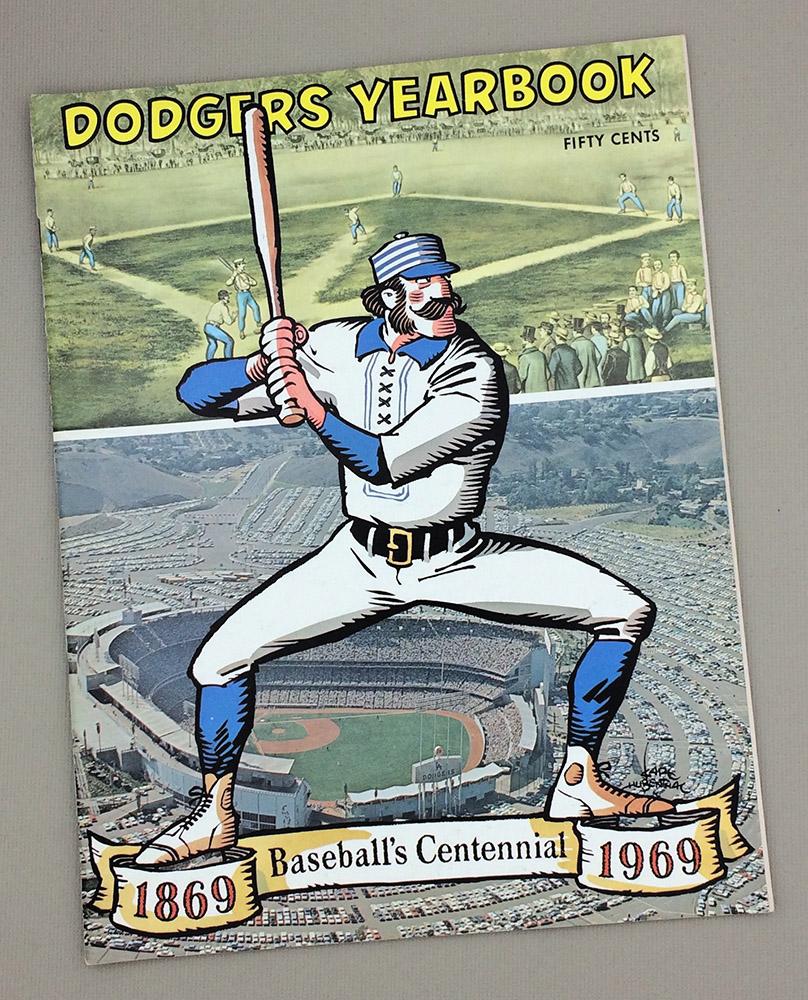 1969 Los Angeles Dodgers Yearbook