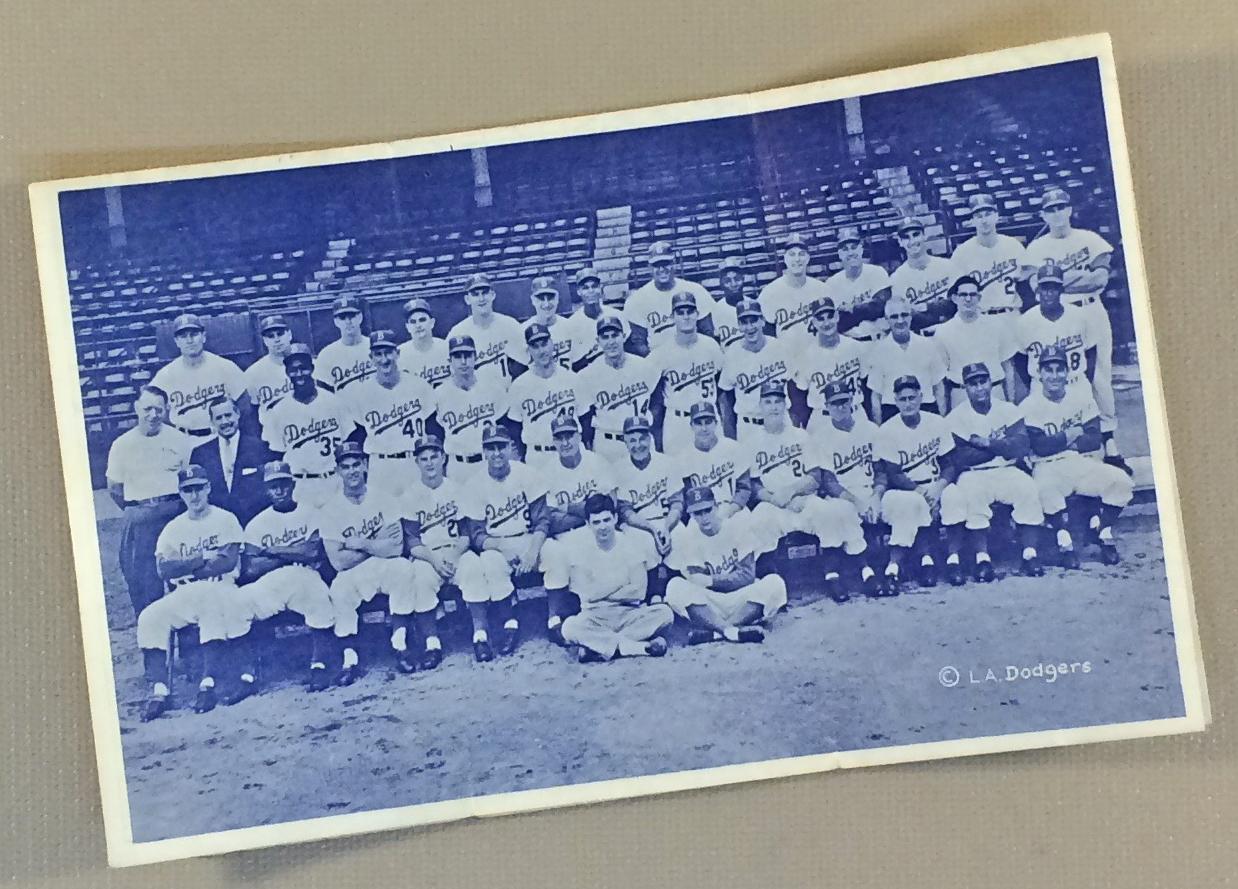 Los Angeles Dodgers 1958 Schedule