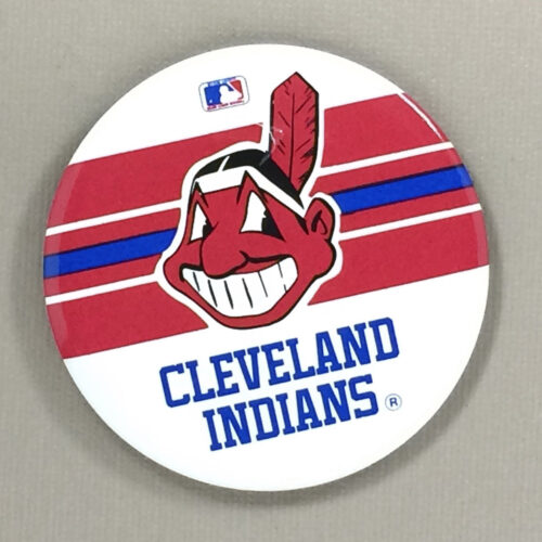 Cleveland Indians Team Button