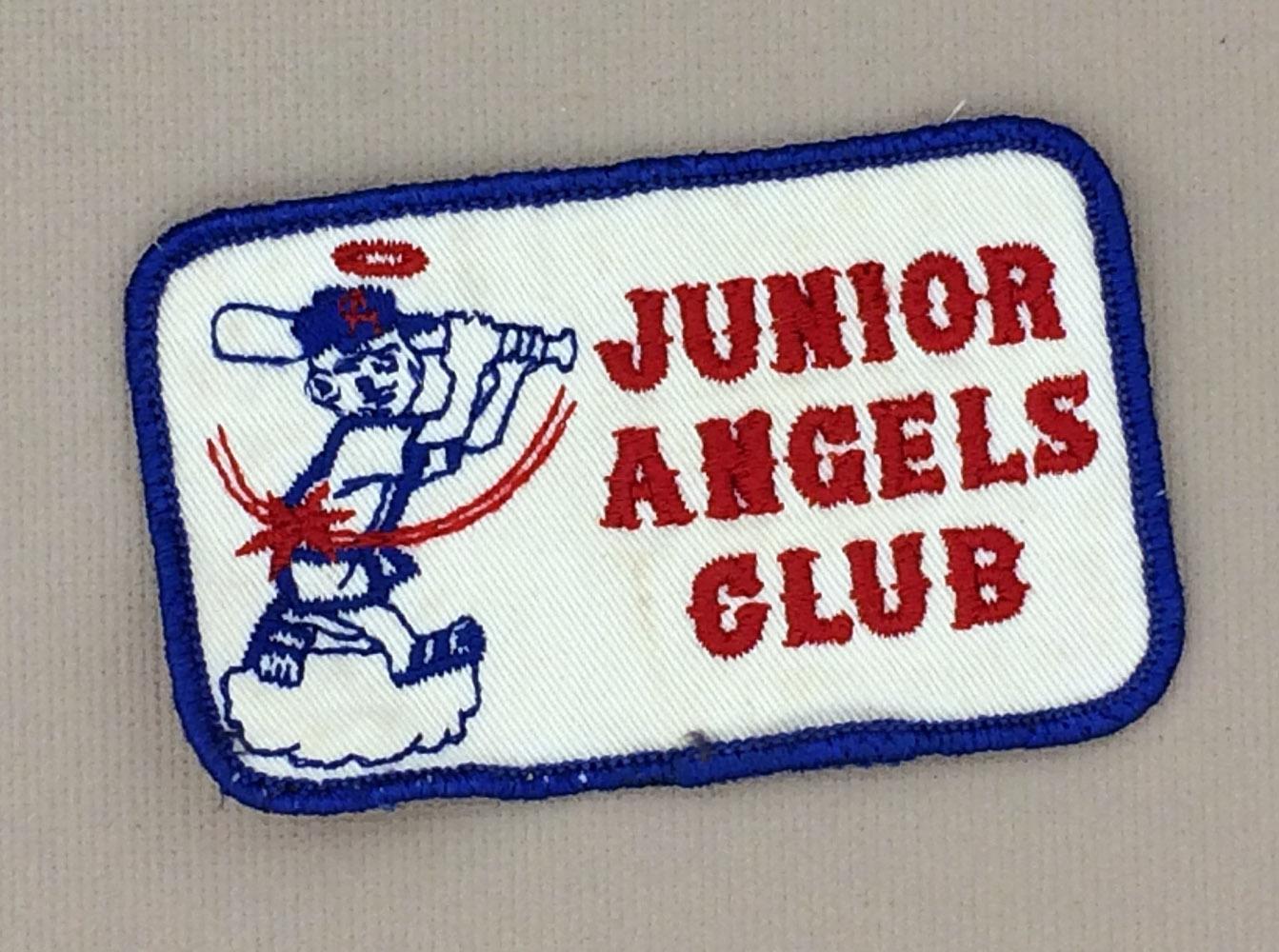 1960's Rectangular Junior Angels Patch