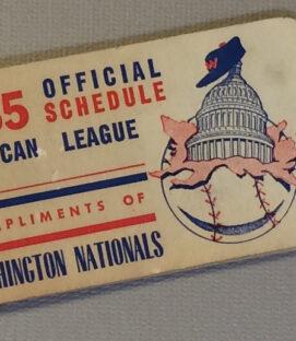 1955 MLB Schedule