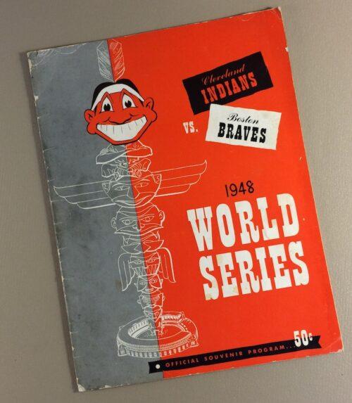 World Series 1948 Game Program