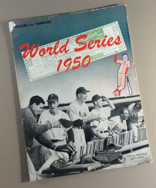 World Series 1950 Game Program