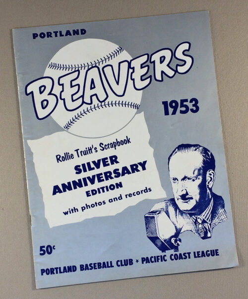 Portland Beavers 1953 Yearbook