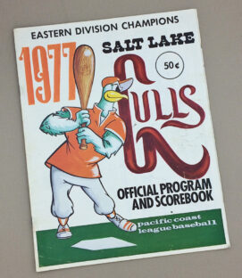 1977 Salk Lake Gulls Game Program