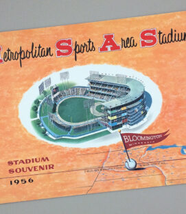 Metropolitan Sports Area Stadium 1956 Souvenir Guide
