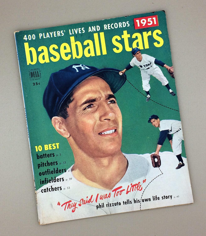 1951 DELL BASEBALL STARS Magazine