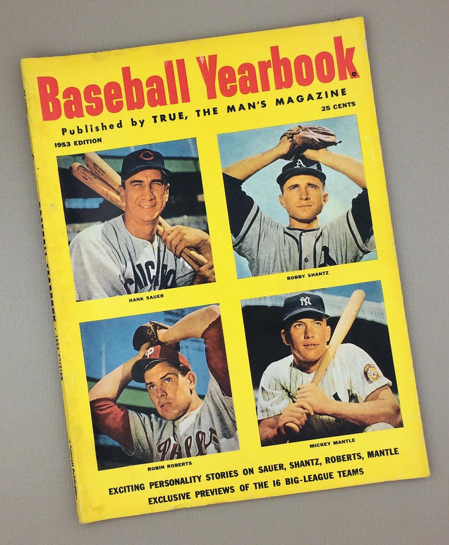 1953 Baseball Yearbook Magazine