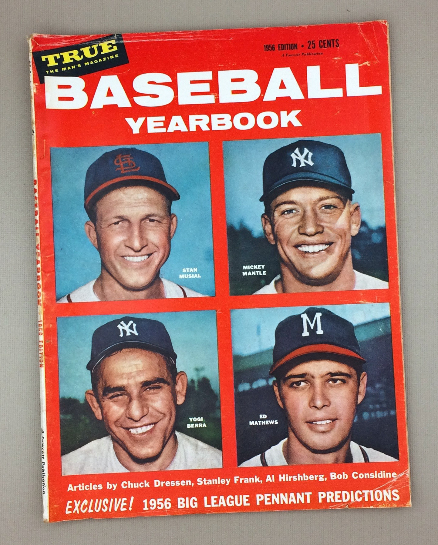 BASEBALL YEARBOOK Magazine 1956