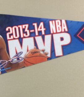 Kevin Durant Oklahoma City Thunder Pennant