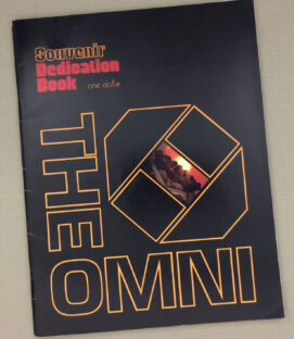 The Omni Atlanta Souvenir Dedication Book