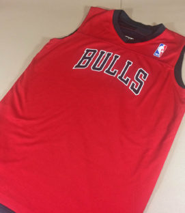 Chicago Bulls Reversible Warmup Shirt