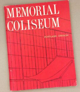Portland Memorial Coliseum 1960 Inaugural Guide