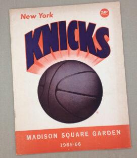 New York Knicks 1965 Program